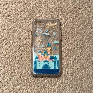 Used Disney Castle Otterbox iPhone 7 case